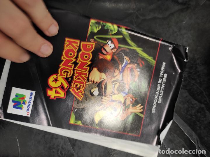 Videojuegos y Consolas: DONKEY KONG 64 NINTENDO 64 N64 PAL-ESPAÑA - Foto 4 - 289884758