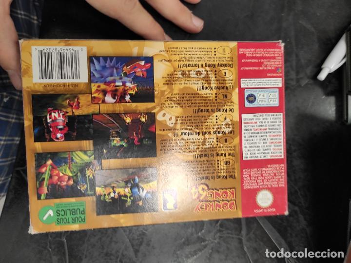 Videojuegos y Consolas: DONKEY KONG 64 NINTENDO 64 N64 PAL-ESPAÑA - Foto 9 - 289884758
