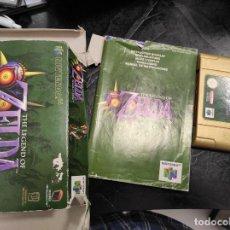 Videojuegos y Consolas: THE LEGEND OF ZELDA ZELDA: MAJORA'S MASK PARA NINTENDO 64 PAL ESP. Lote 289885018