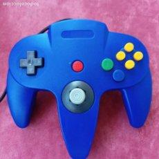 Videojuegos y Consolas: MANDO COMPATIBLE NINTENDO 64 AZUL. Lote 292597388