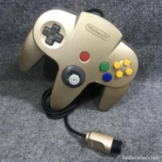 Videojuegos y Consolas: CONTROLLER GOLD NINTENDO 64 N64. Lote 293683483