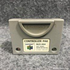 Videojuegos y Consolas: CONTROLLER PAK NINTENDO 64 N64. Lote 293683498