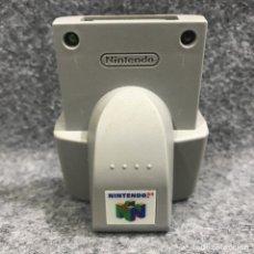 Videojuegos y Consolas: RUMBLE PAK NINTENDO 64 N64. Lote 293683513