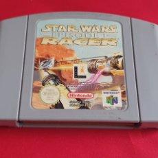 Videojuegos y Consolas: JUEGO STAR WARS RACER NINTENDO 64 SIN PROBAR. Lote 295014438