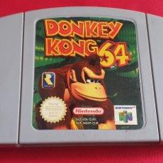 Videojuegos y Consolas: JUEGO DONKEY KONG 64 NINTENDO 64 SIN PROBAR. Lote 295015068