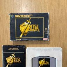 Videojuegos y Consolas: ZELDA OCARINA OF TIME - PAL ESP - NINTENDO 64. Lote 295340973