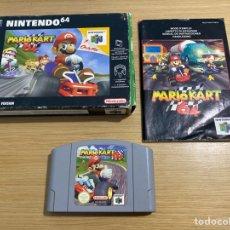 Videojuegos y Consolas: MARIO KART 64 NINTENDO 64 PAL ESPAÑA.. Lote 295341198