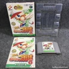 Videojuegos y Consolas: JIKKYOU POWERFUL PRO YAKYUU 6 JAP NINTENDO 64 N64. Lote 295382373