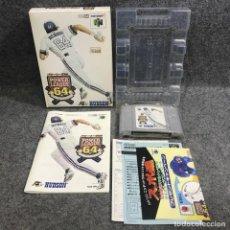 Videojuegos y Consolas: POWER LEAGUE 64 JAP NINTENDO 64 N64. Lote 295382408