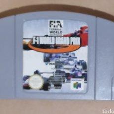 Videojuegos y Consolas: JUEGO N64 F-1 WORLD GRAND PRIX. Lote 295694703