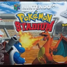 Videojuegos y Consolas: POKEMON STADIUM NINTENDO 64 CON TRANSFER PACK NUEVO PRECINTADO PAL ESPAÑA. Lote 295744738