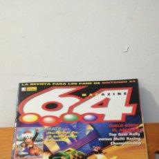 Videojuegos y Consolas: MAGAZINE 64 ~ LA REVISTA PARA LOS FANS DE NINTENDO 64 ~ MC N°1 - 31 ENERO 1998. Lote 295876718