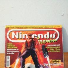 Videojuegos y Consolas: NINTENDO ACCION ~ REVISTA DE VIDEOJUEGOS PARA CONSOLAS NINTENDO ~ ANO VII N°62 ~ 1992. Lote 295954258