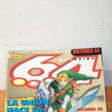 Videojuegos y Consolas: MAGAZINE 64 ~ LA REVISTA PARA LOS FANS DE NINTENDO64 ~ MC N°8 - 31 AGOSTO 1998. Lote 295955773
