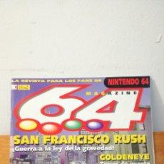 Videojuegos y Consolas: MAGAZINE 64 ~ LA REVISTA PARA LOS FANS DE NINTENDO64 ~ MC N°2 - 28 FEBRERO 1998. Lote 295956608