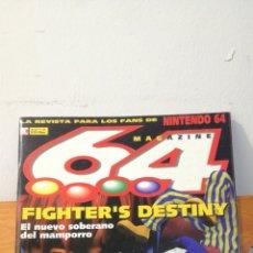 Videojuegos y Consolas: MAGAZINE 64 ~ LA REVISTA PARA LOS FANS DE NINTENDO64 ~ MC N°3 - 31 MARZO 1998. Lote 295957648