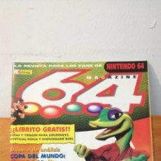 Videojuegos y Consolas: MAGAZINE 64 ~ LA REVISTA PARA LOS FANS DE NINTENDO64 ~ MC N°7 - 31 JULION 1998. Lote 295960973