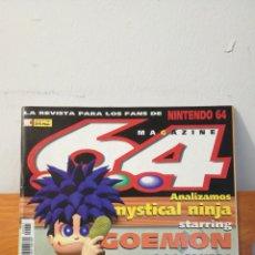 Videojuegos y Consolas: MAGAZINE 64 ~ LA REVISTA PARA LOS FANS DE NINTENDO64 ~ MC N°5 - 31 MAYO 1998. Lote 295962713