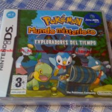 Videojuegos y Consolas: POKEMON MUNDO MISTERIOSO EXPLORADORES DEL TIEMPO JUEGO PARA NINTENDO DS NDS Y 3DS COMPLETO. Lote 26597394
