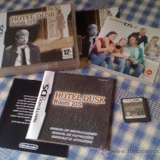 Jeux Vidéo et Consoles: HOTEL DUSK: ROOM 215 PARA LA NINTENDO DS DSI 3DS COMPLETO VERSIÓN ESPAÑOLA. Lote 27078392