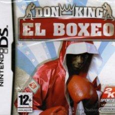 Videojuegos y Consolas: DON KING EL BOXEO - JUEGO NINTENDO DS (PRECINTADO). Lote 28745466