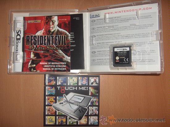 Videojuegos y Consolas: RESIDENT EVIL DEADLY SILENCE VERSION PAL ESPAÑA NINTENDO DS - Foto 2 - 29756801