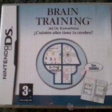 Videojuegos y Consolas: JUEGO BRAIN TRAINING. Lote 30694087