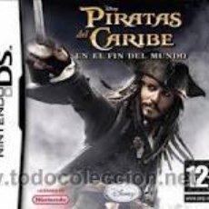 Videojuegos y Consolas: DS PIRATAS DEL CARIBE. Lote 32273426