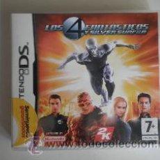 Videojuegos y Consolas: DS LOS 4 FANTASTICOS. Lote 32273477
