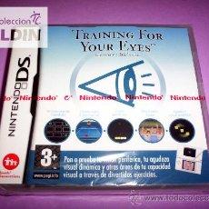 Videojuegos y Consolas: TRAINING FOR YOUR EYES NUEVO PRECINTADO NDS. Lote 35887048