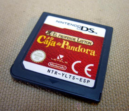 NINTENDO, JUEGO, LA CAJA DE PANDORA, NINTENDO DS (Juguetes - Videojuegos y Consolas - Nintendo - DS)