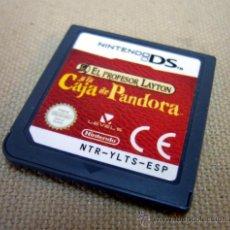 Videojuegos y Consolas: NINTENDO, JUEGO, LA CAJA DE PANDORA, NINTENDO DS. Lote 33425965