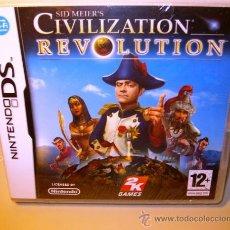 Videojuegos y Consolas: SID MEIERS CIVILIZATION REVOLUTION / NINTENDO DS / NDS / PAL ESPAÑA / NUEVO (2008). Lote 34205087