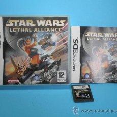 Videojuegos y Consolas: DS STAR WARS LETHAL ALLIANCE. Lote 35019036