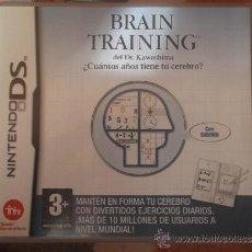 Videojuegos y Consolas: BRAIN TRAINING DEL DR. KAWASHIMA - ¿CUÁNTOS AÑOS TIENE TU CEREBRO? - NINTENDO DS (NDS) ¡¡NUEVO!!. Lote 36764040