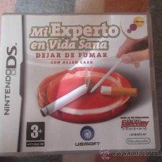 Videojuegos y Consolas: MI EXPERTO EN VIDA SANA - DEJAR DE FUMAR CON ALLEN CARR - NINTENDO DS (NDS) ¡¡NUEVO!!. Lote 36764067