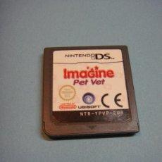 Videojuegos y Consolas: JUEGO ORIGINAL NINTENDO DS IMAGINE PET VET. .. Lote 39252742