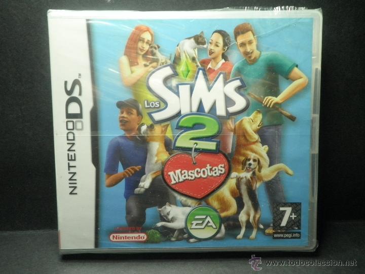 DS SIMS 2 MASCOTAS - PRECINTADO - NUEVO ( DSI - LITE - DSI - 3DS - XL ) (Juguetes - Videojuegos y Consolas - Nintendo - DS)