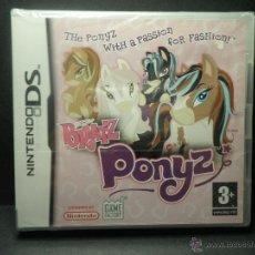 Videojuegos y Consolas: DS BRATZ PONYZ - PRECINTADO - NUEVO ( DSI - LITE - DSI - 3DS - XL ). Lote 39685859