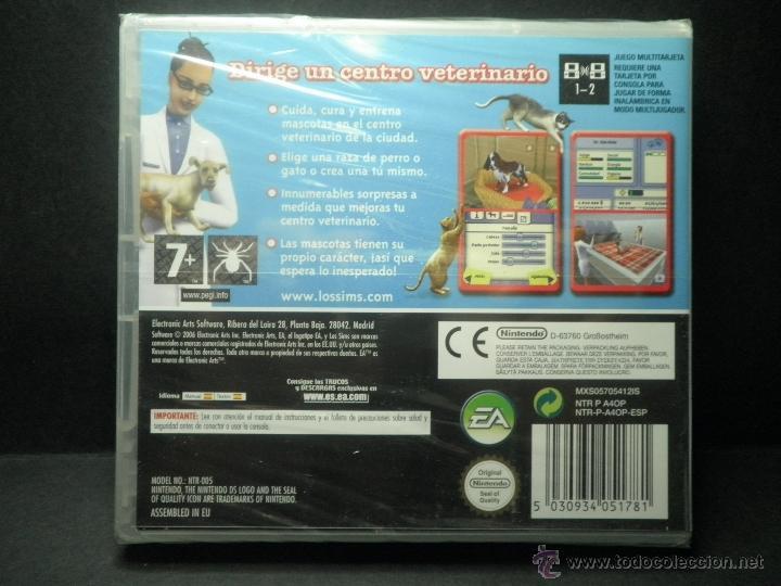 Videojuegos y Consolas: DS SIMS 2 MASCOTAS - PRECINTADO - NUEVO ( DSI - LITE - DSI - 3DS - XL ) - Foto 2 - 39685711