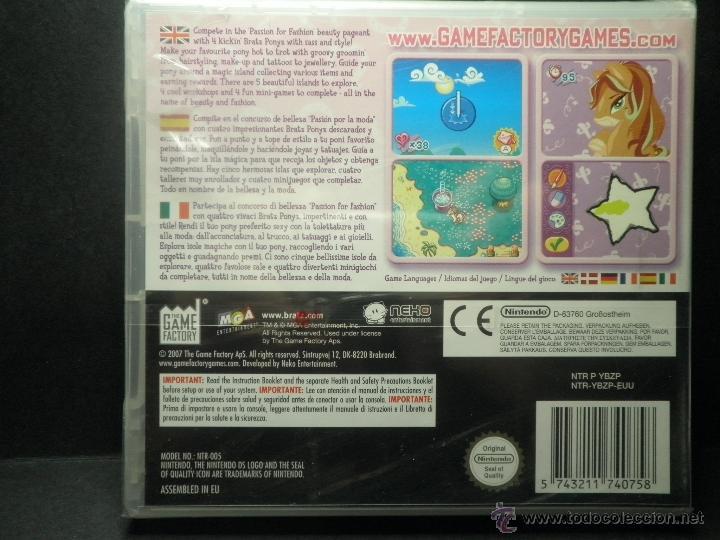 Videojuegos y Consolas: DS BRATZ PONYZ - PRECINTADO - NUEVO ( DSI - LITE - DSI - 3DS - XL ) - Foto 2 - 39685859