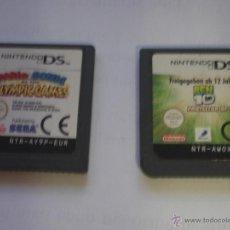 Videojuegos y Consolas: LOTE DE 2 JUEGOS NINTENDO DS: MARIO OLYMPIC GAMES + BEN 10 PROTECTOR OF EARTH. Lote 39994987