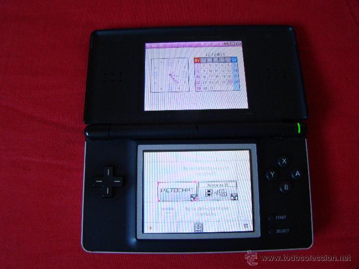 CONSOLA NINTENDO DS LITE NEGRA Y PLATA (Juguetes - Videojuegos y Consolas - Nintendo - DS)