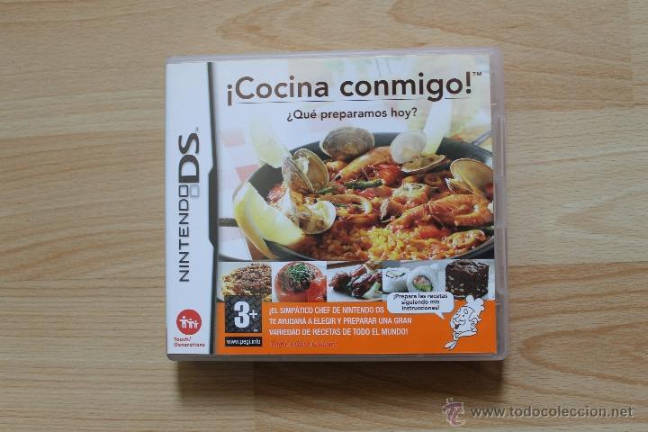 Videojuegos y Consolas: ¡ COCINA CONMIGO ! ¿ QUE PREPARAMOS HOY ? JUEGO NINTENDO DS EDICIÓN ESPAÑOLA - Foto 2 - 41156479