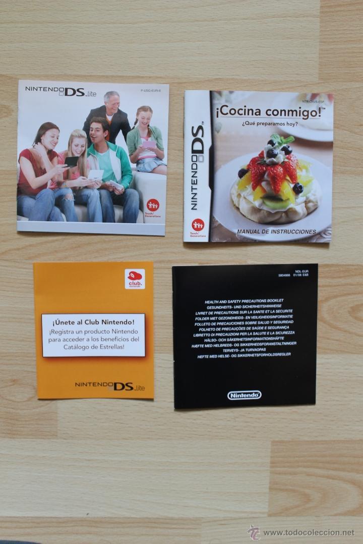 Videojuegos y Consolas: ¡ COCINA CONMIGO ! ¿ QUE PREPARAMOS HOY ? JUEGO NINTENDO DS EDICIÓN ESPAÑOLA - Foto 4 - 41156479