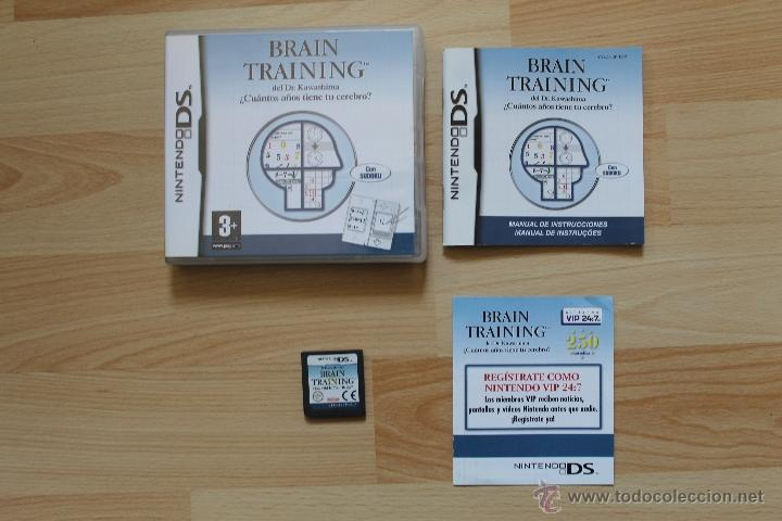 BRAIN TRAINING DEL DR KAWASHIMA JUEGO NINTENDO DS EDICIÓN ESPAÑOLA (Juguetes - Videojuegos y Consolas - Nintendo - DS)