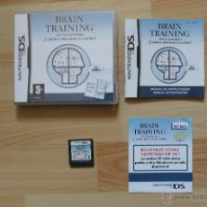Videojuegos y Consolas: BRAIN TRAINING DEL DR KAWASHIMA JUEGO NINTENDO DS EDICIÓN ESPAÑOLA. Lote 41156563