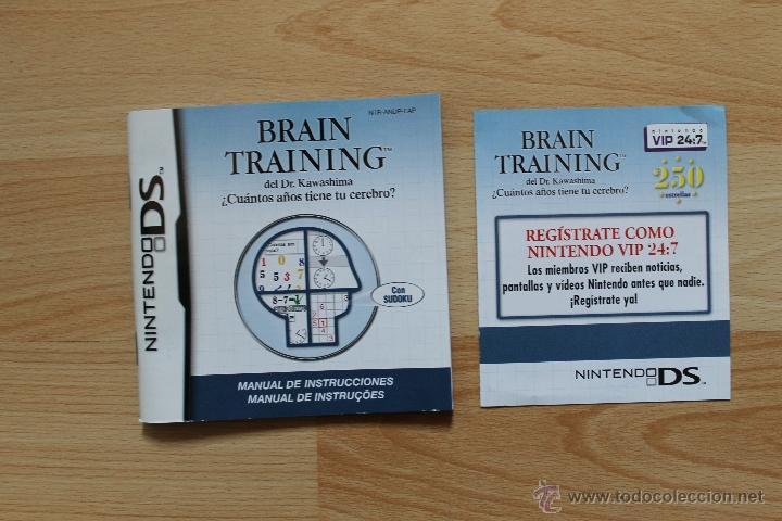 Videojuegos y Consolas: BRAIN TRAINING DEL DR KAWASHIMA JUEGO NINTENDO DS EDICIÓN ESPAÑOLA - Foto 4 - 41156563