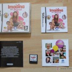 Videojuegos y Consolas: IMAGINA SER MAMÁ JUEGO NINTENDO DS EDICIÓN ESPAÑOLA. Lote 41156662