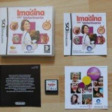 Videojuegos y Consolas: IMAGINA SER VETERINARIA JUEGO NINTENDO DS EDICIÓN ESPAÑOLA. Lote 41156764